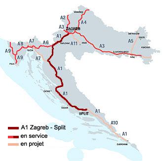 Carte Autoroute Croatie.Actualites Ambassade De Croatie En France