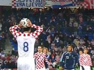 e h croatia argentina 3 2 friendlies world cup 2006